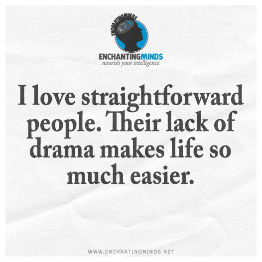 I like this too. Drama means a person is  not aware and therefore not present.  Keep away from these people especially  on the weekends