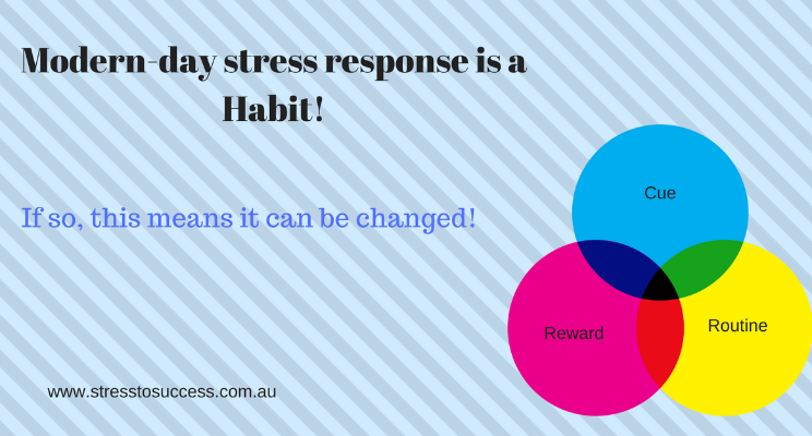 Modern-day stress response is a habit!